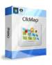 La scatola del software OkMap Desktop